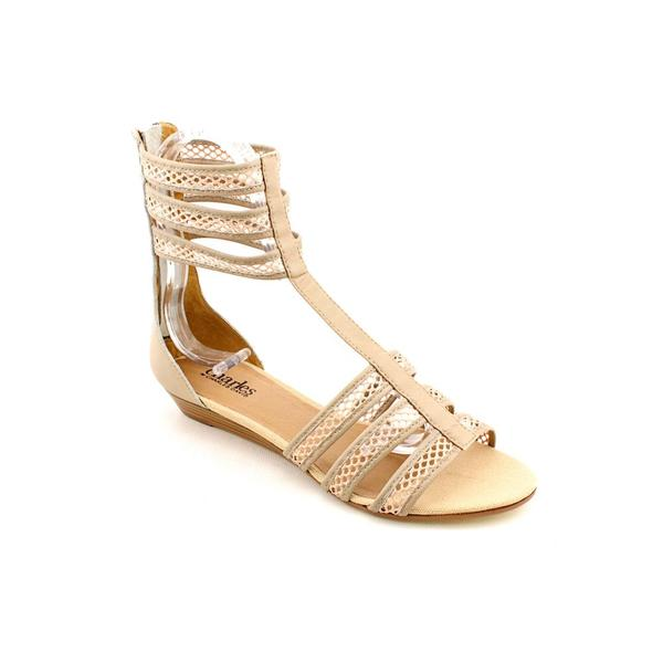 Charles By Charles David Women's 'Network' Leather Sandals (Size 7.5)
