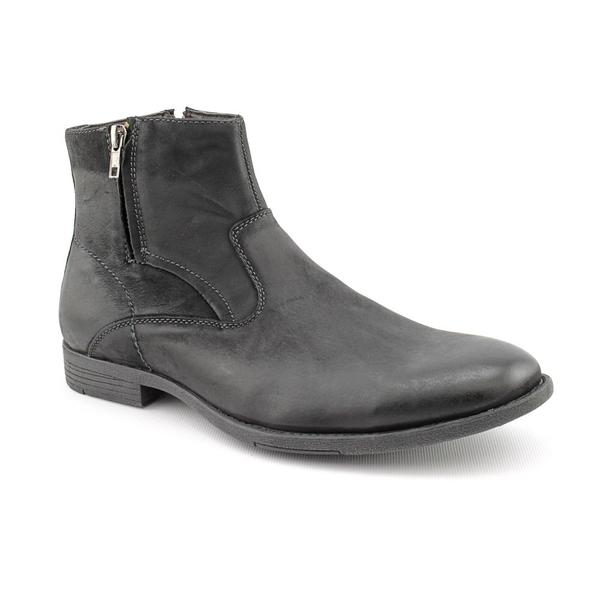 Robert Wayne Men's 'Caleb' Leather Boots