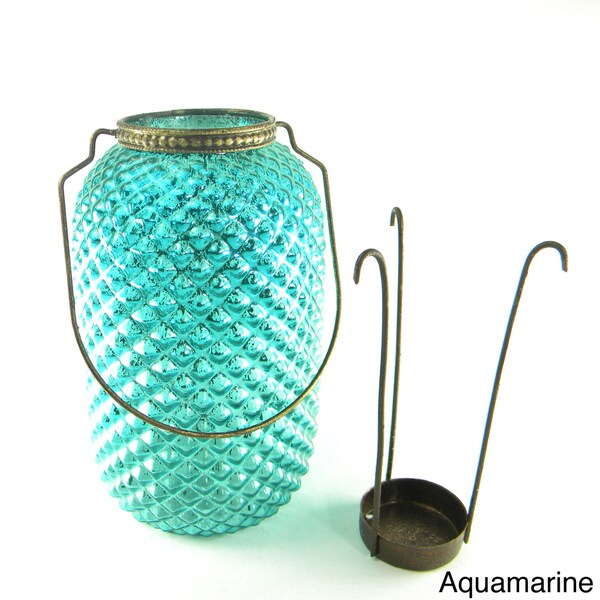 Diamond Cut Candle Lantern