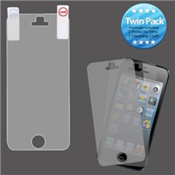 INSTEN Screen Protector 2 Film/ 1 Cleaning Cloth for Apple iPhone 5