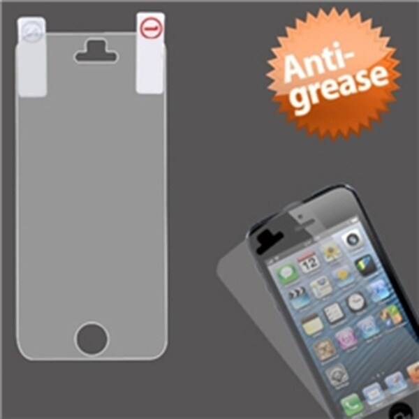INSTEN Clear Anti-grease LCD Screen Protector for Apple iPhone 5