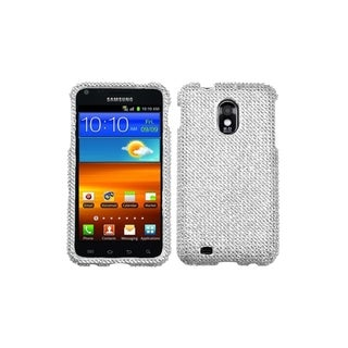 INSTEN Silver Diamante Case Cover for Samsung Epic 4G Touch/ Galaxy S II