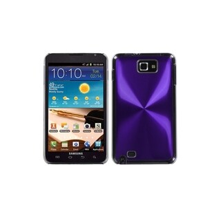 INSTEN Purple Cosmo Back Case Cover for Samsung Galaxy Note i717/ T879