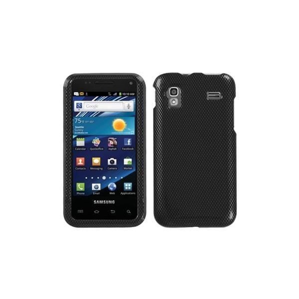 INSTEN Carbon Fiber Phone Case Cover for Samsung i927 Captivate Glide