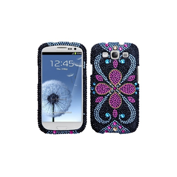 MYBAT Eastern Jewels Bling Diamond Cover Case for Samsung© Galaxy S3