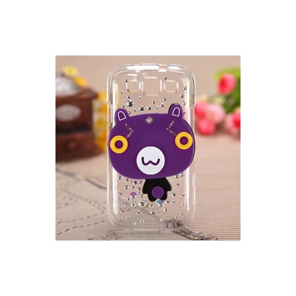 INSTEN Cartoon Bear Crystal 3D Mirror Bling Phone Case Cover for Samsung Galaxy S3