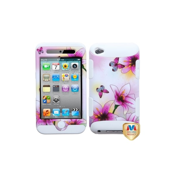 MYBAT Lilies/ White TUFF Case for Apple® iPod touch Generation 4