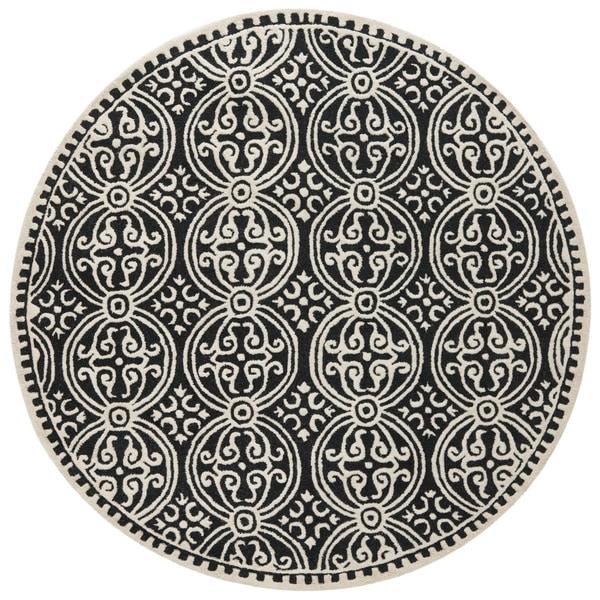 Shop Safavieh Handmade Cambridge Moroccan Black Ivory Rug