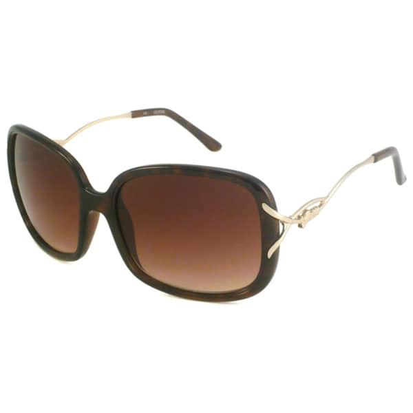 Guess Women's GU7074 Plastic Rectangular Sunglasses