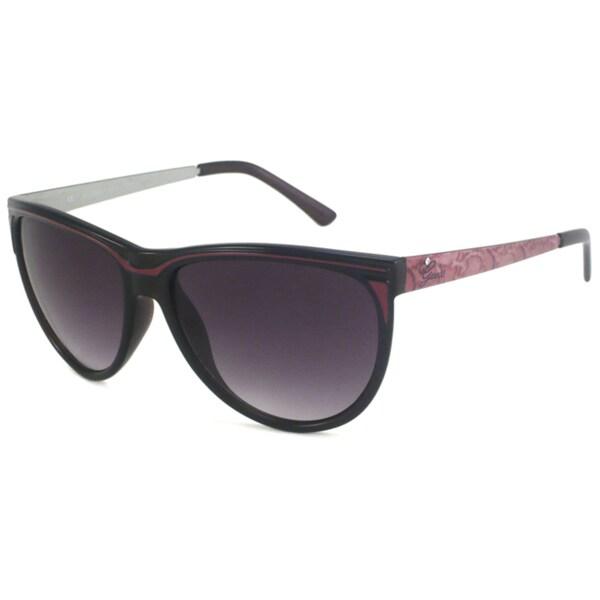 Guess Women's GU7089 Black/Gray Cat-Eye Sunglasses