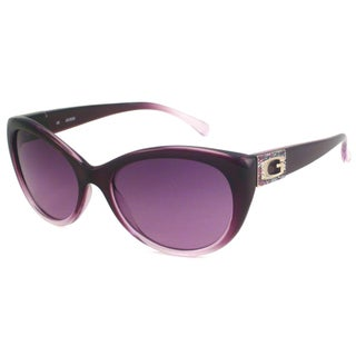 Guess Women's GU7177 Cat-Eye Sunglasses