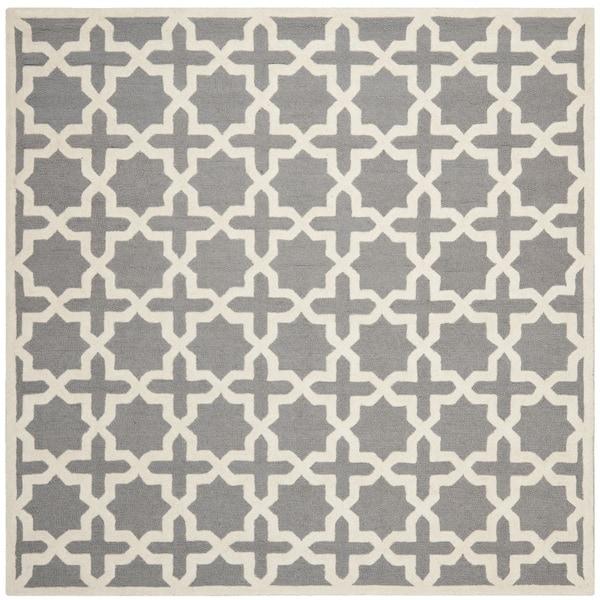 Safavieh Handmade Cambridge Moroccan Silver Geometric