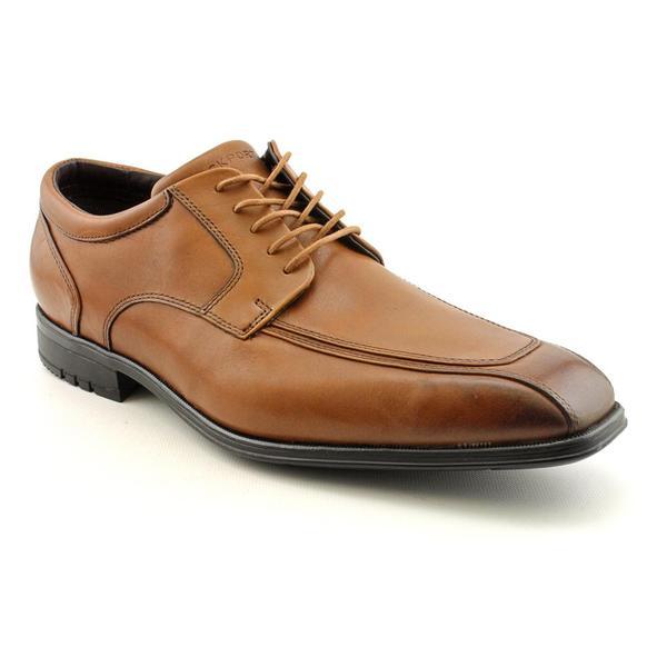 Rockport Men's 'Fairwood Moc Front' Leather Dress Shoes - Wide (Size 13)
