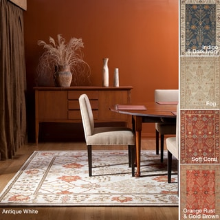 Hand-tufted Transitional Oriental Wool Area Rug (8' x 11')