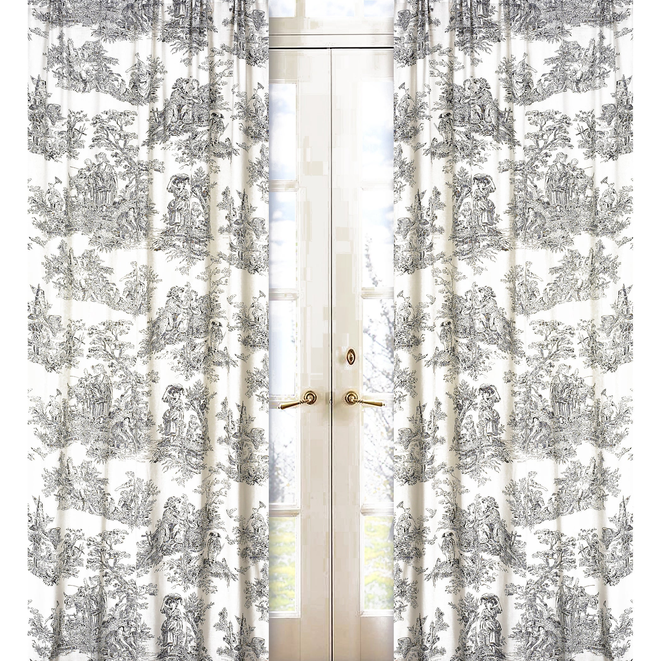 84 Inch Window Treatment Curtain Panel