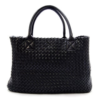 Dime City Women's Woven Pyramid Tote Bag