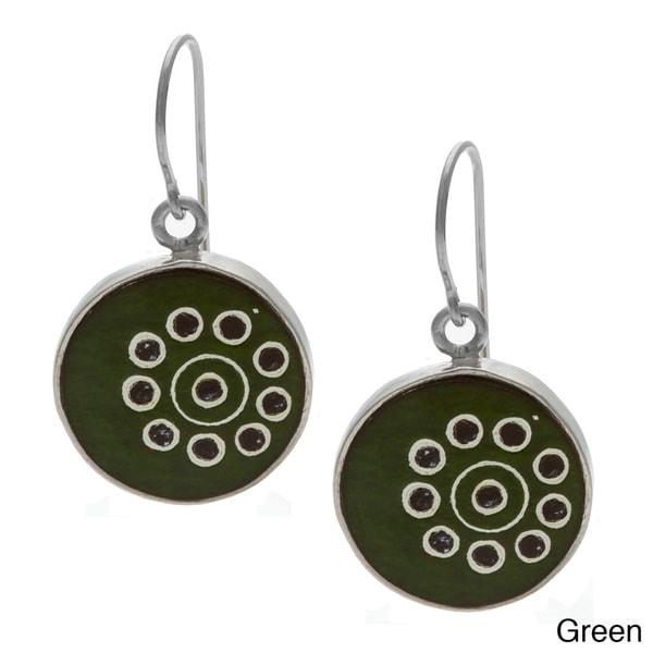 Circle Handcrafted Earrings (Peru)
