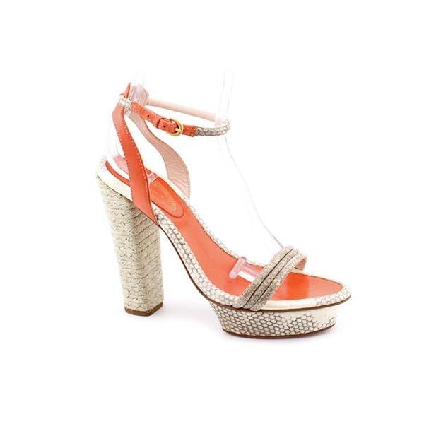 Elie Tahari Women's 'Giselle' Animal Print Sandals (Size 8.5)