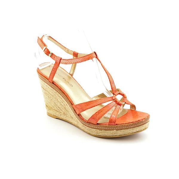 Bandolino Women's 'Kahari' Basic Textile Sandals (Size 9.5)