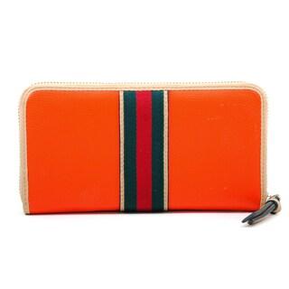Anais Gvani Women's Two-tone Zip-around Wallet