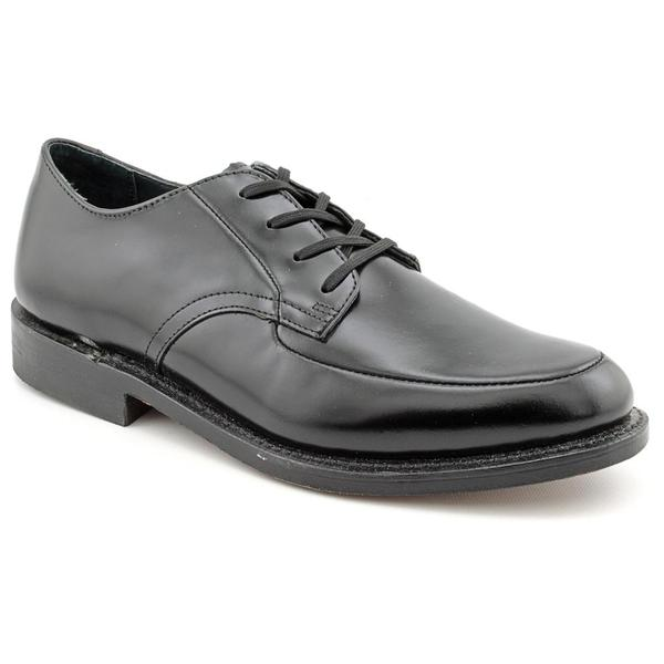 Executive Imperials Men's 'Black Oxford' Leather Dress Shoes - Extra Narrow (Size 13)