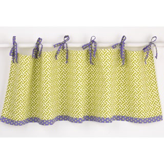 Cotton Tale Window Periwinkle Curtain Valance