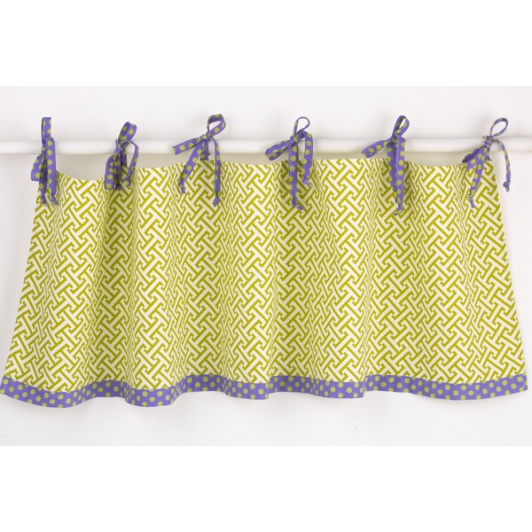 Cotton Tale Window Periwinkle Curtain Valance