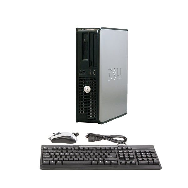 Dell Optiplex 360 Intel Dual Core 2.6GHz CPU 2GB RAM 80GB HDD Windows 10 Home Desktop Computer (Refu