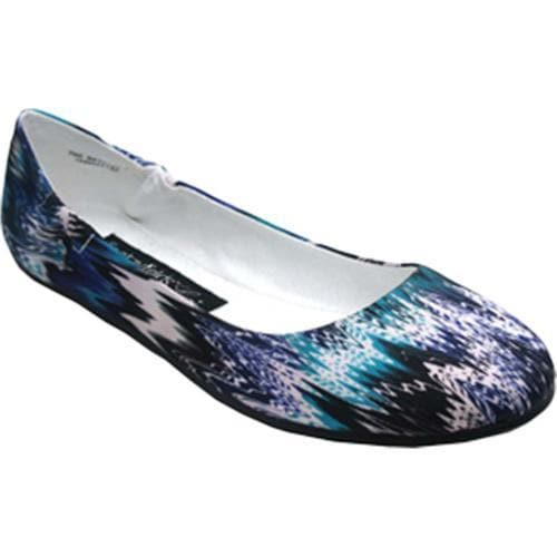 Women's Footzyfolds Bethany Blue Multi
