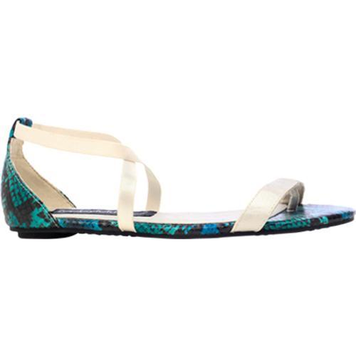 Women's Footzyfolds Joan Blue Multi