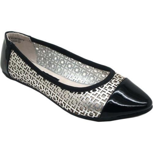 Women's Footzyfolds Kourtney Black/Silver