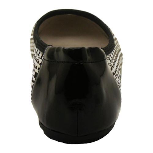 Women's Footzyfolds Kourtney Black/Silver - Thumbnail 2
