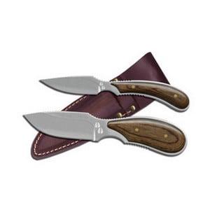 Outdoor Edge Dark Timber Combo Fixed Blade Knives