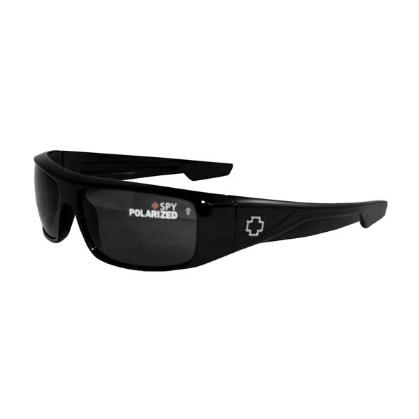Spy Optic Men's 'Logan' Polarized Wrap Sunglasses