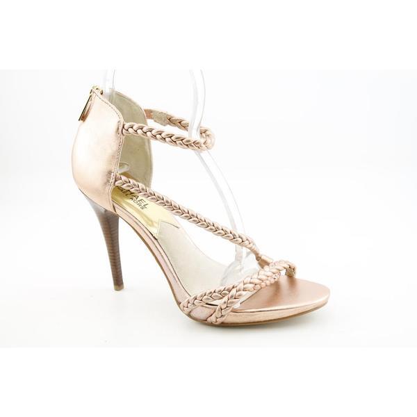 Michael Kors Women's 'Alexa High Sandal' Leather Dress Shoes