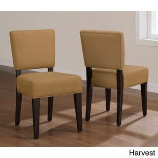 Savannah Espresso Dining Chairs (Set of 2)