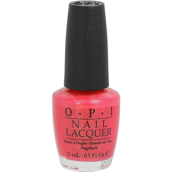 OPI Bright Lights Big Color Coral Nail Lacquer