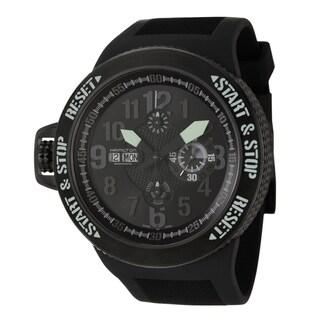 Hamilton Men's 'Khaki Field' Black Titanium Chronograph Watch