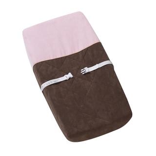 Sweet JoJo Designs Soho Pink Changing Pad Cover