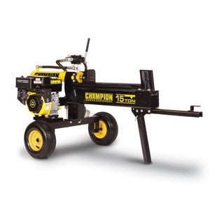Champion Power Equipment 91520 Unassembled Horizontal/ Vertical 15-ton Hydraulic Log Splitter with Log Catcher