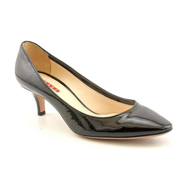 Prada Women's 'Vernice' Patent Leather Dress Shoes (Size 5.5)