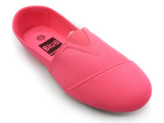 Blue Children's 'K-Timmy' Neon Pink Slip-on Fabric Shoes