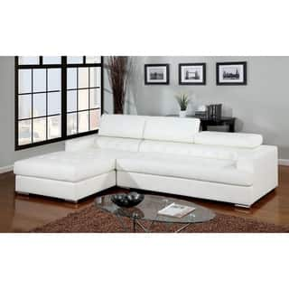 Incredible Buy Bonded Leather Sectional Sofas Online At Overstock Our Machost Co Dining Chair Design Ideas Machostcouk