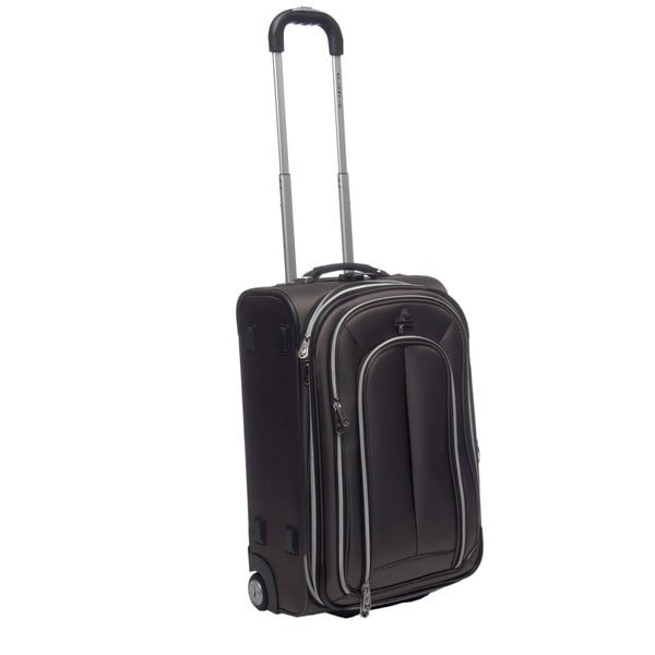 Atlantic 'Graphite Lite' 22-inch Rolling Carry On Upright Suitcase