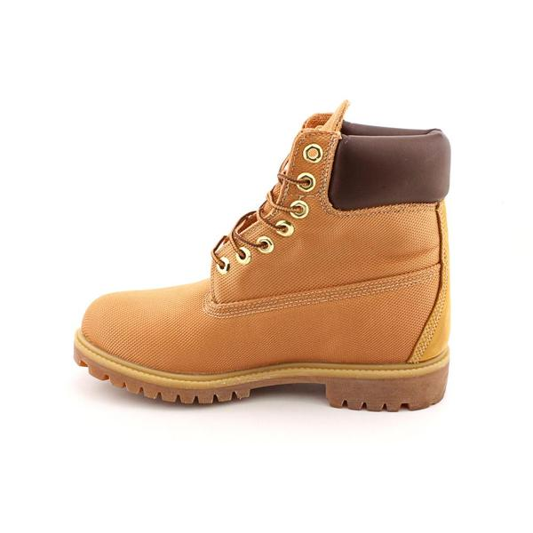 Premium' Leather Boots - Wide (Size