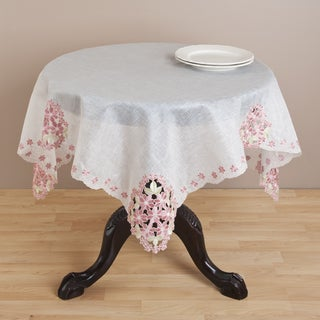 Embroidered and Cutwork Table Linens
