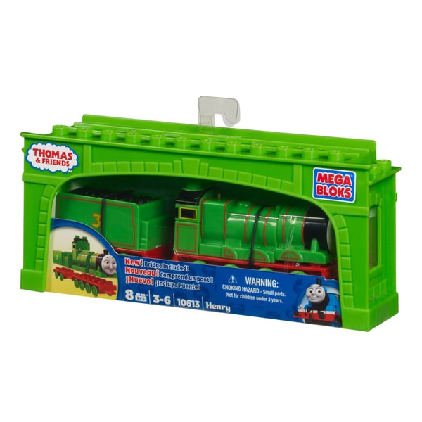 Mega Bloks Thomas and Friends Henry with Tender