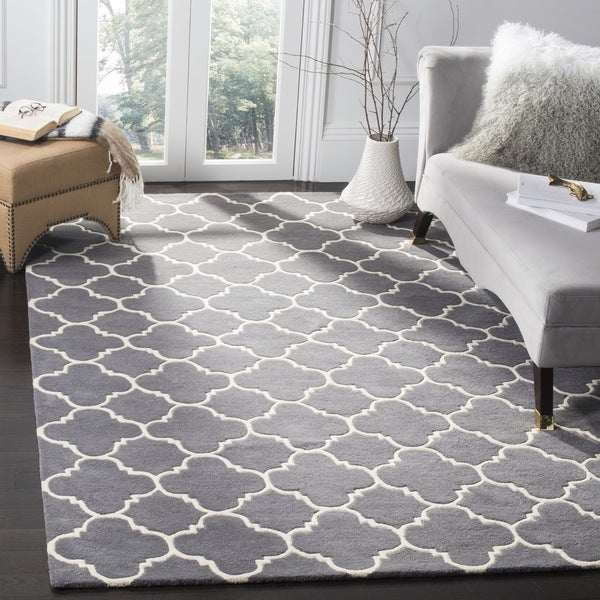 rugs for bedrooms safavieh chatham contemporary handmade moroccan grey 13097