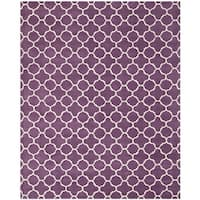 Safavieh Handmade Moroccan Purple Indoor Wool Rug - 8' x 10'