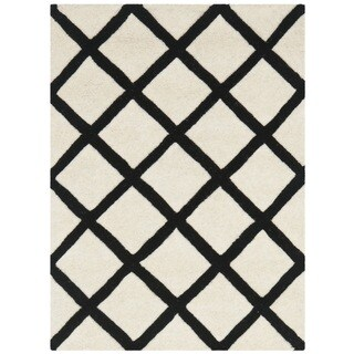 Safavieh Handmade Moroccan Chatham Ivory Wool Rug (2' x 3')